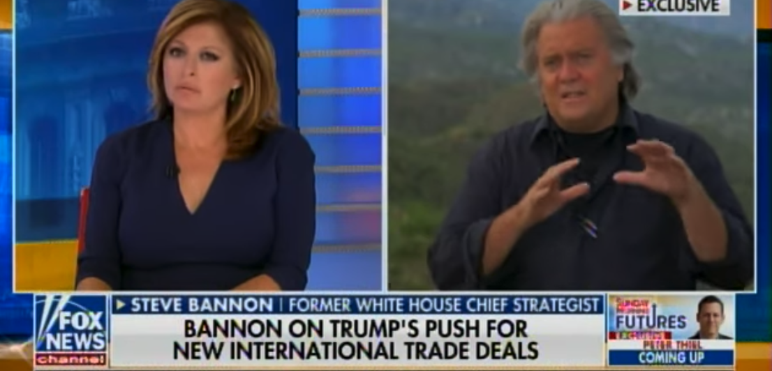"Steve Bannon: Donald Trump Has Started a ""World Revolution – a Populist-Nationalist Movement"